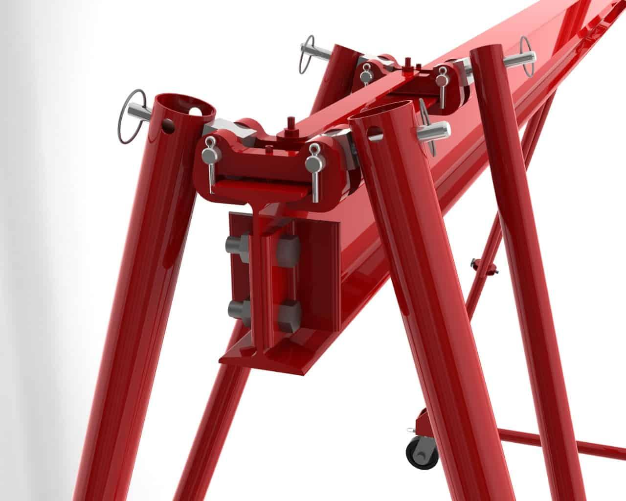 Wallace Tri-Adjustable Gantry Cranes - Design Elegance