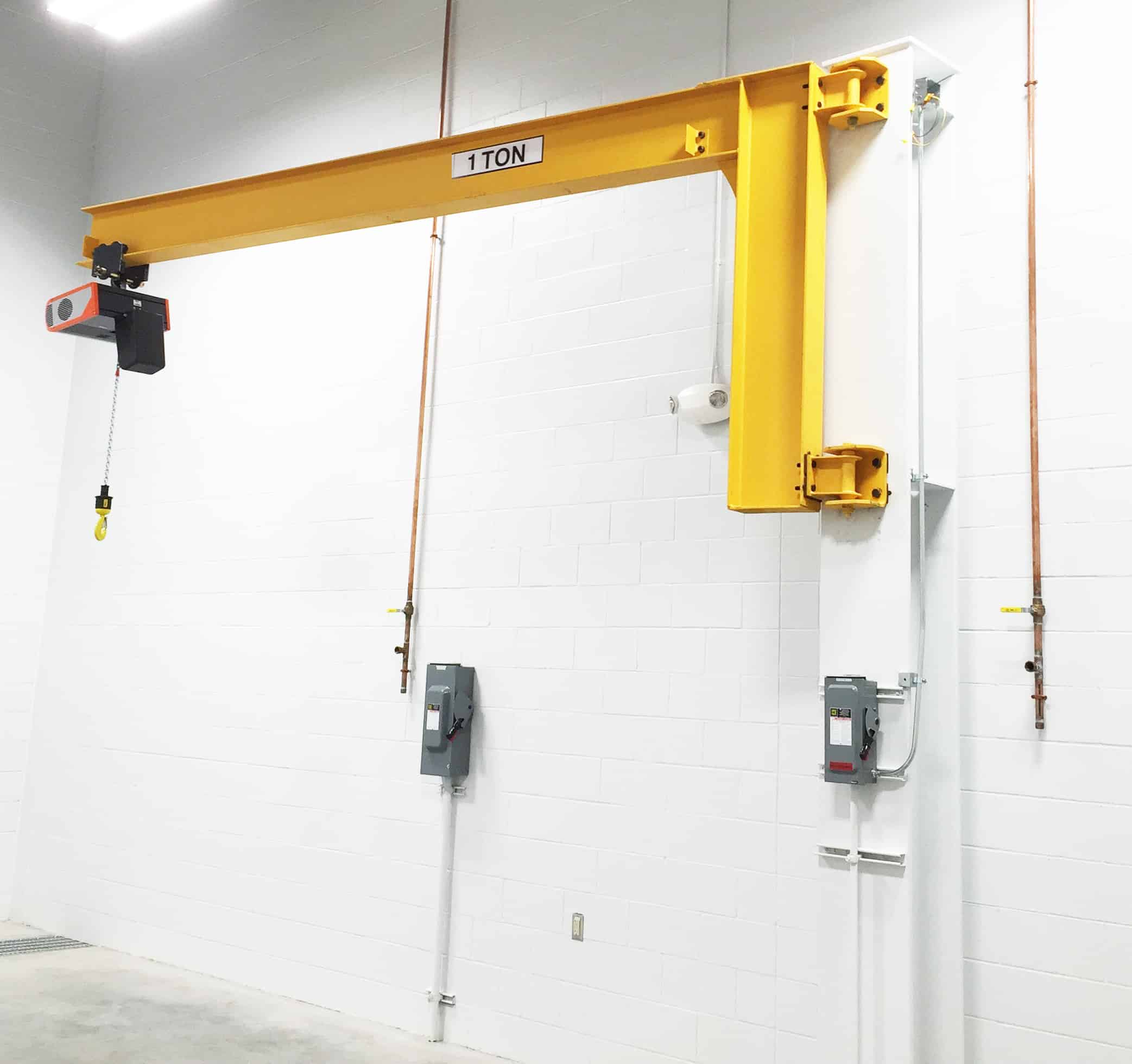 Jib Crane Mounting Brackets : Model jib r